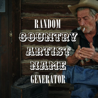 Random Country Artist Name Generator