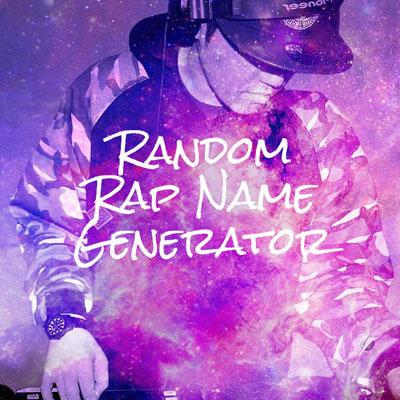 Random Rap name generator